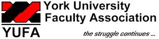 YUFA - York University Faculty Association